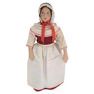 "Beautiful Ingeborg Nielsen Danish Denmark Cloth Doll 10"""