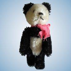 Vintage West German Schuco Mohair Teddy Panda Bear