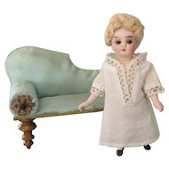 Lovely Antique All Original French Bisque Mignonette doll