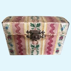 Cute paper covered German Box for Dolls