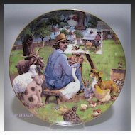 Lowell Davis The Critics Special Edition Collectors Plate