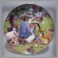 Lowell Davis The Critics Special Edition Collectors Plate