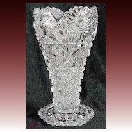 Westmoreland EAPG Tableware Line Vase Line # 666 Deep Cut