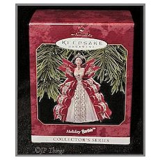 Hallmark Holiday Barbie 1997 Keepsake Ornament