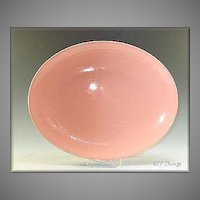 Edwin Knowles Large Oval Peach Platter Like New
