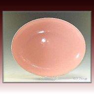 Edwin Knowles Large Oval Peach Platter Like New