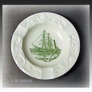 Wedgwood Last of the Great Whalers Ashtray Thomas Long Co