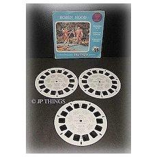 1954 Robin Hood ViewMaster Sawyer 3 Reel Packet Set