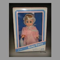 Cititoy Baby Patty Doll 684302 Sleeping Eyes Never Played with In Original Box