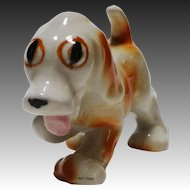Adorable Spunky Caramel and White Dog United China & Gift Co