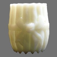 Eagle Glass Company Opal Bowknot a.k.a. Bundled Cigars Toothpick Holder