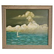 Original oil on board by Winslow Anderson.