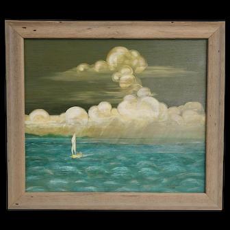 Original oil on board by Winslow Anderson.