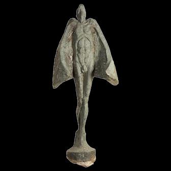 Mid Century, Sculpture of Icarus