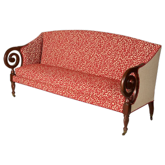 Mid 19th c Sofa, British West Indies origin