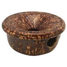 19th C. Bennington Pottery Spittoon Cuspidor
