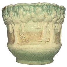 Brush-McCoy Pottery Sylvan Jardiniere Planter c. 1916 FREE SHIPPING!