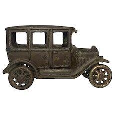 Arcade Cast Iron Model T Ford Sedan Toy Automobile c. 1920s Rare. FREE SHIPPING!