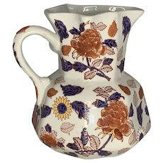 Mason's Ironstone Imari Hydra Jug with Serpentine Handle FREE SHIPPING!