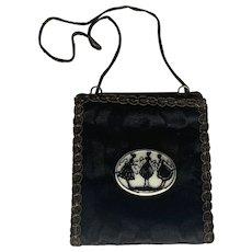 Art Deco Celluloid Silhouette Handbag Purse with Original Box FREE SHIPPING!