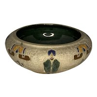 Roseville Pottery Mostique Low Bowl FREE SHIPPING!