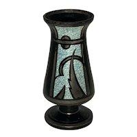 Art Deco HEM Vase by Michel Herman c. 1930s FREE SHIPPING!