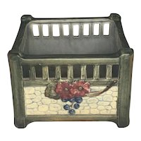 Reserved for Kelly: Weller Pottery Klyro Planter c. 1920s