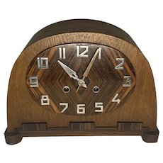 Art Deco German Mantle Clock c. 1930s
