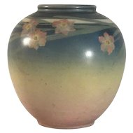 Rookwood Vellum Glaze Vase by E.T. Hurley 6204F c. 1942 FREE SHIPPING!
