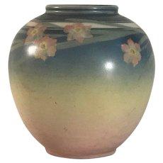 Rookwood Vellum Glaze Vase by E.T. Hurley 6204F c. 1942 FREE SHIPPING!
