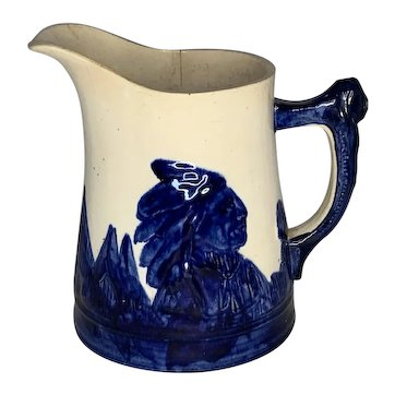 Old Sleepy Eye Pitcher 2 Qt. Monmouth Pottery FREE SHIPPING!