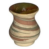 Silver Springs Pottery Mission Swirl Vase