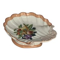 19th Century C. H. Pillivuyt & Co. Scalloped Fruit Bowl FREE SHIPPING!