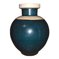 Art Deco Camark Pottery Crackle Vase by Alfred Tetzschner c. 1927 Rare