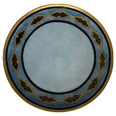 Haviland Limoges Hand Painted Plate artist signed FREE SHIPPING!