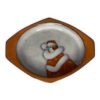 Art Deco Lusterware Flapper Trinket Dish Noritake Morimura Brothers Rare! FREE SHIPPING!