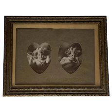 Cupid Awake & Cupid Asleep by M. B. Parkinson Copyright 1897