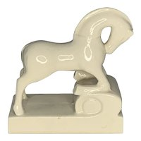 Art Deco Etruscan Horse Bookend FREE SHIPPING!