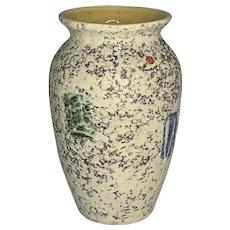 Mid Century Modern Scheurich Fat Lava Vase West Germany c. 1950s
