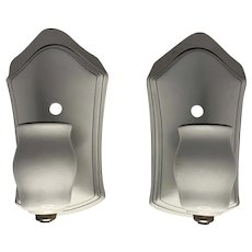 Art Deco Porcelain Wall Sconces FREE SHIPPING!