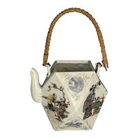 Antique Chinese Porcelain Teapot FREE SHIPPING!