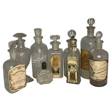 Antique Perfume Bottle Collection