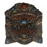 Tibet Buddhist Deity Mask