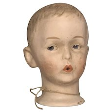 Whistling Jim by Gebruder Heubach Bisque Doll Head FREE SHIPPING!