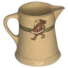 Roseville Pottery Juvenile Santa Claus Creamer FREE SHIPPING!