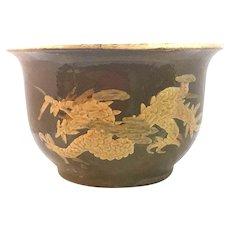 Chinese Earthenware Pidan Egg Pot Dragon Flower Pot FREE SHIPPING!