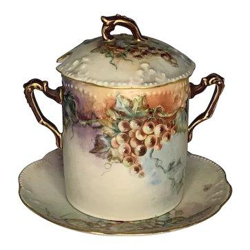 Antique Limoges Condensed Milk Set c. 1890-1910 FREE SHIPPING!
