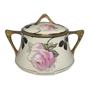Art Nouveau Bavaria Z.S. & Co. Royal Munich Lidded Bowl FREE SHIPPING!