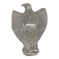 Baccarat Crystal Eagle Sculpture FREE SHIPPING!