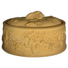 Wedgwood Caneware Game Pie Dish c. 1850